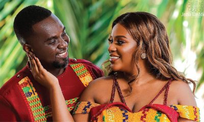 Joe Mettle and Wife Selasie Mettle share picture announcing their first child.